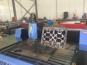 mataas na configuration 1325/1530 pang-industriya metal plasma cutting machine