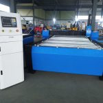 china cnc Plasma cutting Machine na may hyper 125a para sa makapal na metal sheet