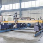 cnc gantry cutter machine para sa metal sheet cutting