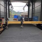gantri plate cnc plasma beveling 45 degree cutting machine