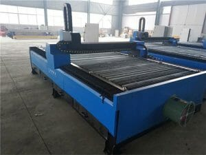 talahanayan uri cnc plasma cutting machine na may ilalim ng tubig cutting plasma at apoy cutting