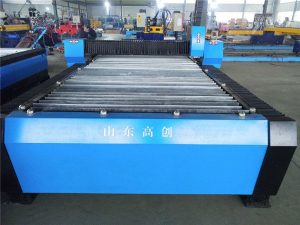 1300x2500mm cnc plasma metal pamutol na may mababang gastos na ginamit cnc plasma cutting machine